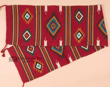 Southwestern Red Table Runner - 16x80