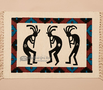 Southwestern Cotton Placemat 13x19 -Kokopelli (himat26)