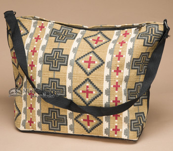 Southwest Native Design Purse -Wheat Cross