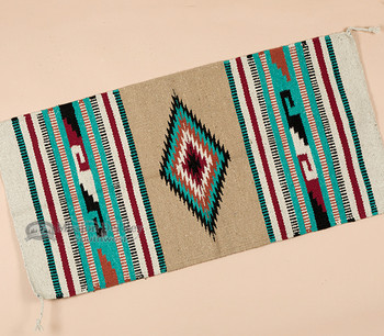 Southwest Style Throw Rug 20x40