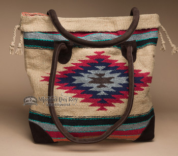 Southwestern Style Rug Tote Bag 17x17 (mont-c)
