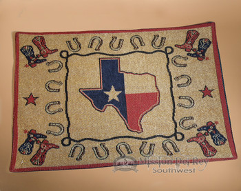 Western Tapestry Placemat -Texas