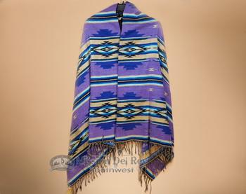 Southwestern Woven Shawl