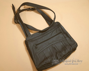 Genuine Leather Concealed Carry Purse