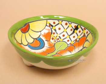 Mexican Hand Painted Bowl -Talavera