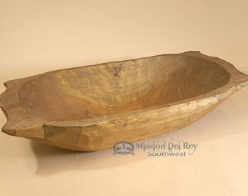 Rustic Stained Dough Bowl
