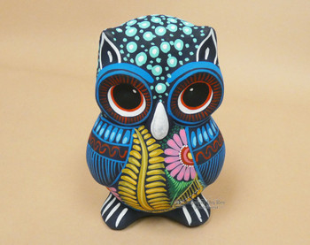Southwest Hand Painted Ceramic Owl