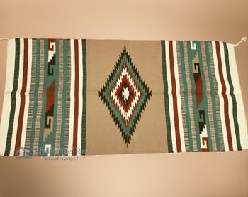 Southwestern Handwoven Wool Area Rug