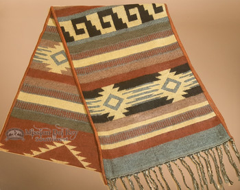 Southwestern Rustic Style Design Scarf