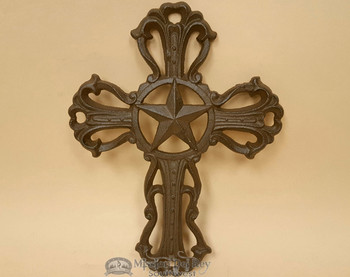 Western Cast Iron- Cross with Star.