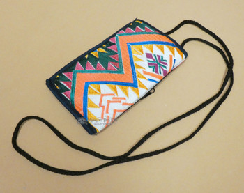 Western Style Embroidered Glasses Carrying Pouch