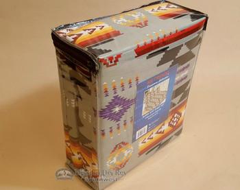 Southwestern Blaze Sheet Set -Gray Queen