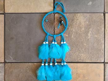 "Native Dream Catcher 4"" Turquoise"