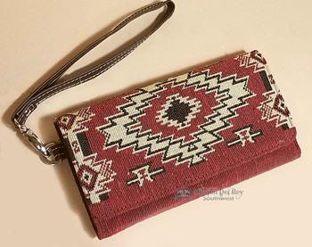 Southwest Tapestry Woven Wallet Clutch