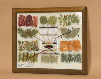 Natural Dyes made from plants.
