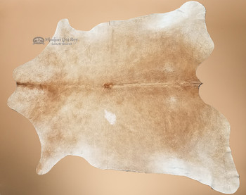 Beautiful Ginger Cowhide Rug / Wall Hanging