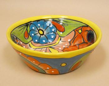 Hand Painted Ceramic Talavera Bowl