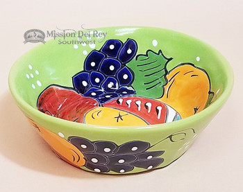 Hand Painted Mexican Ceramic Talavera Bowl