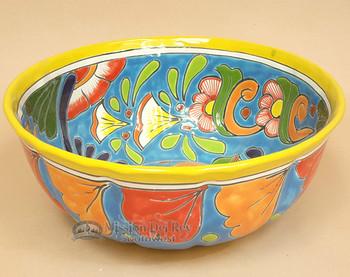 Ceramic Talavera Hand Painted Bowl