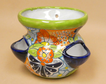 Hand Painted Talavera Planter Pot