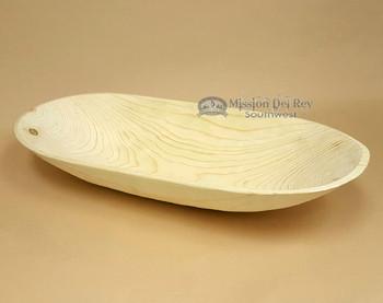 Deep & Wide Tarahumara Wooden Dough Bowl