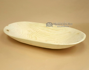 Deep & Wide Tarahumara Wooden Dough Bowl