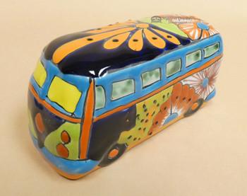 Hand Painted VW Van Bank
