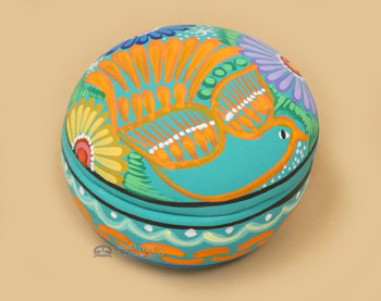 Hand Painted Southwestern Jewelry Box