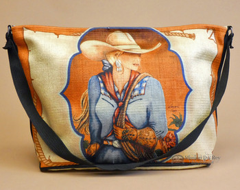 Wild West Cowgirl Art Purse -Jane
