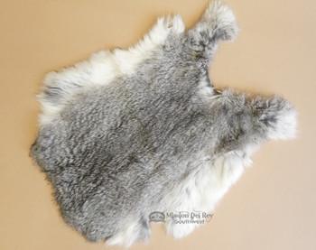 Grey Rabbit Pelt