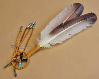 Navajo Medicine Wheel Smudging Fan