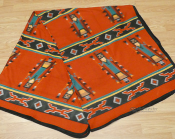 Soft Lodge Blanket - Red