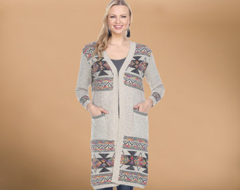 Southwestern Multi Color Cardigan - Small