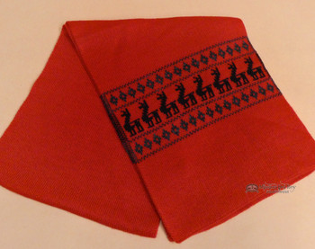 Soft Alpaca Scarf -Red