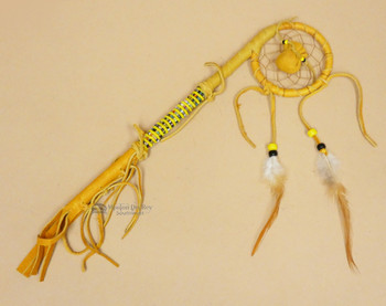 Native American Navajo Dreamcatcher Coup Stick