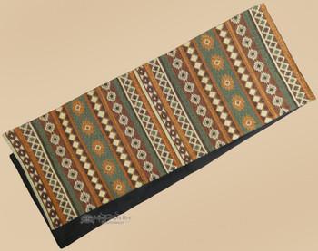 Woven Tapestry Table Runner - Adobe
