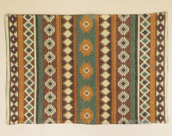 Rustic Southwestern Tapestry Placemat - Adobe