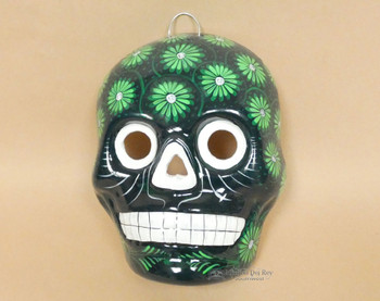 Day of the Dead Wall Skull