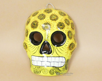 Hanging Day of the Dead Wall Skull