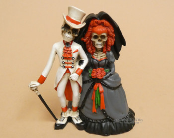 Day of the Dead -Wedding Couple