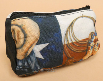 Digital Print Cosmetic Bag - Texas