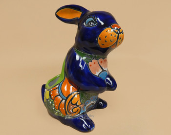 Hand Painted Talavera Rabbit