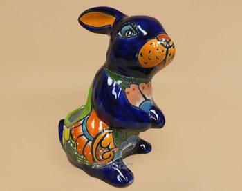 Hand Painted Talavera Rabbit