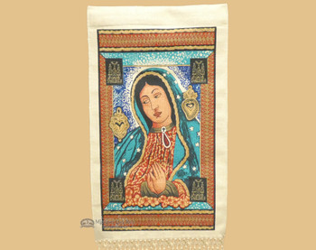 Guadalupe Mosaic Wall Hanging 15x26