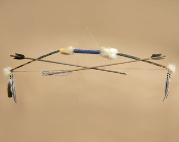 Native American Creek Indian Bow and Arrow