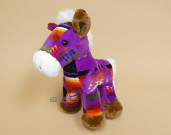 Soft Purple Pony Plush