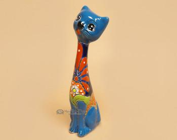"""Mexican Talavera Cat 11"""""""