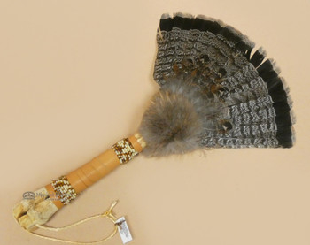 Deer Bone Handled Fan