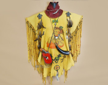 Native American Creek Indian warrior shirt