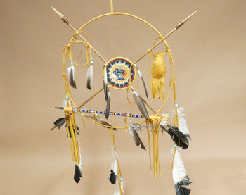 "18"" Navajo Medicine Wheel - Buffalo"